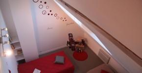 Chambre Tintin de La Grange de Thoré - g^tie 6/8 personnes en Touraine