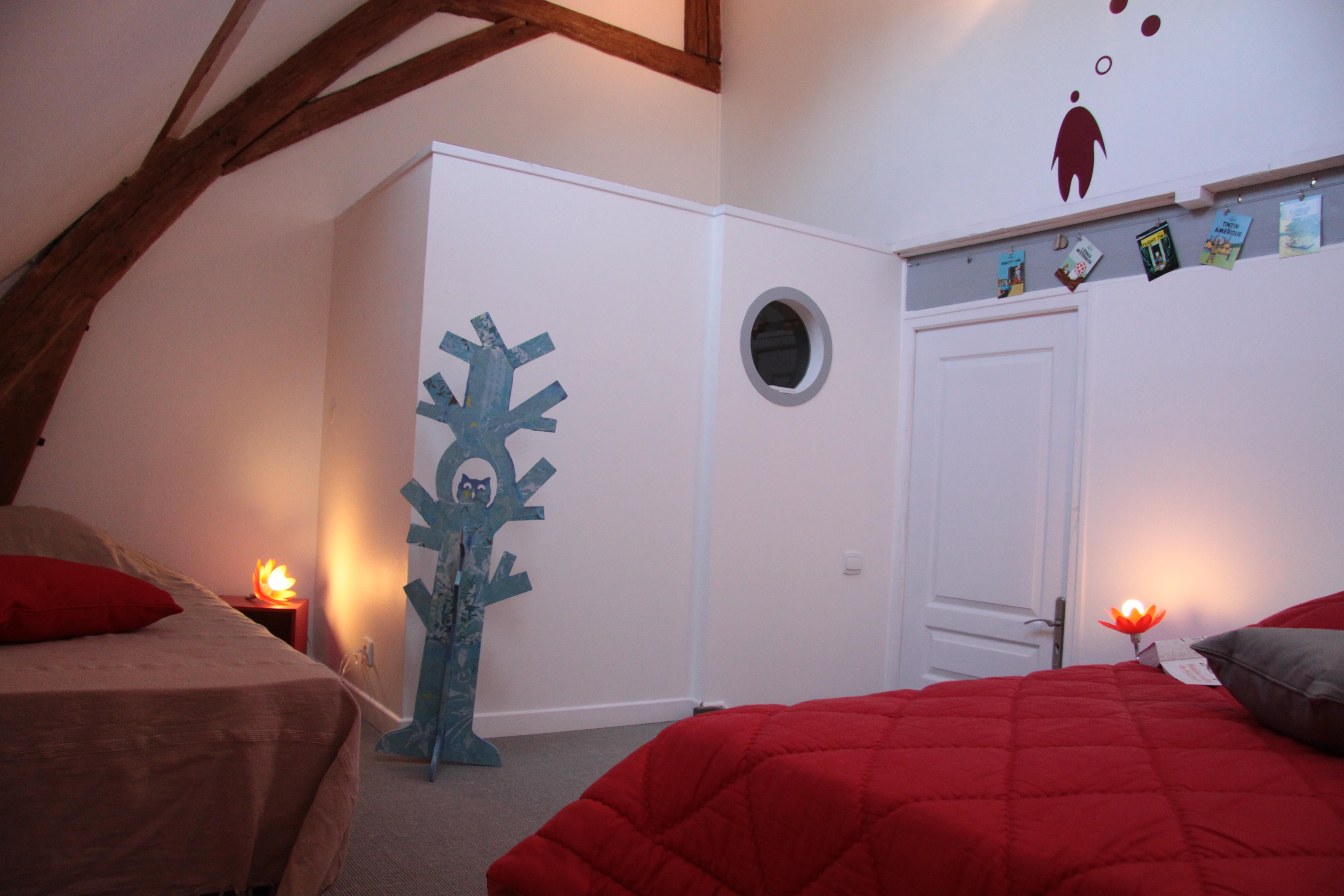 Entre Chenonceau et Amboise, un gîte en Touraine  la